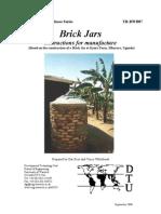 The brick jar - Rainwater Harvesting