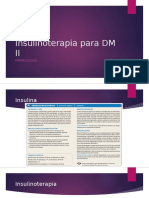 Insulinoterapia Para DM II