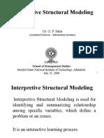interpretivestructuralmodeling-131203053650-phpapp01