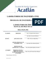 Manual de laboratorio de Física de FES Acatlán