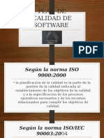 Plan de Calidad de Software