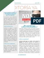 Boletín informativo sobre la auditoría de la deuda