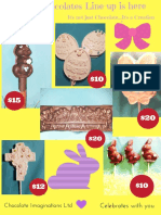 Easter Flyer With Prices