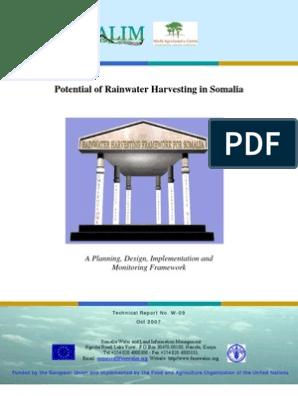 Potential of Rainwater Harvesting in Somalia | Rain