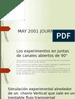 May 2001 Journal No