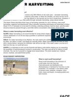 Rainwater Harvesting for crops - Kenya