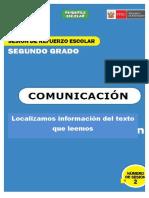 SESION N° 09 Reestructuramos información utilizando organizadores gráficos