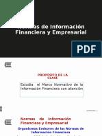 Sesión 5.- Normas Información Financ y Empres 1