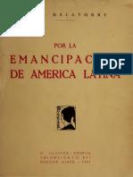Por la emancipación de america latina - Haya de la torre