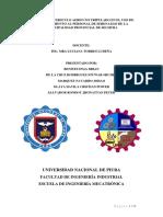 DISEÑO de UN Drone Para MONITOREAR a Los Trabajadores de Seguridad y Limpieza de La Municipalidad de Sechura