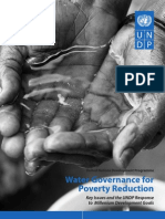 Water Governance for Poverty Reduction