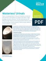 Waterless Urinals Review - Sydney Australia
