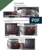 Cara Mereset Notifikasi PM Service Volvo A40F