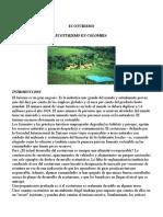Ecoturismo Colombiano