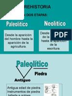 PALEOLITICO- NEOLÍTICO