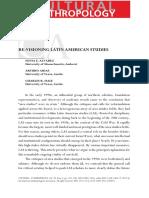 Sonia E Álvarez  y Arturo Arias - Revisioning Latin American Studies