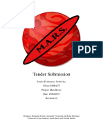 finished tender evaluation application