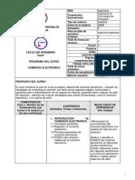 Comercio Electronico Secuencia Didactica