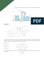 Fluid Mechanics Practice Questions With Solution