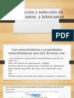 Clasificación y Selección de Refrigerantes y Lubricantes[1]