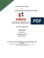 Project Marketing Stratigies of Hero MotoCorp (1).doc