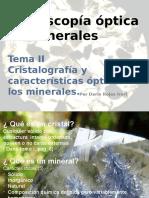 II.Cristalografía y características ópticas de los minerales.pptx