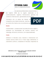 Carta de Beyoma Portafolio