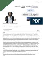 2.3 Tipos de Costos II_ Costos Fijos y Variables - Universidad de Chile _ Coursera