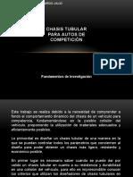 CHASIS TUBULAR PARA AUTOS DE COMPETICIÓN.pptx