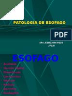 01 - Patologia de Esofago