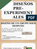 DISEÑO PREEXPERIMENTAL