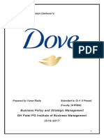 DOVE Business policy and strategy