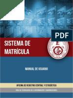 Manual Matricula Final