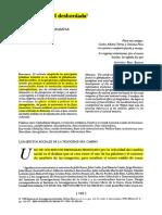 La Modernidad Desbordada-Ricardo Pozas Horcasitas-Revista Mexicana de Sociología