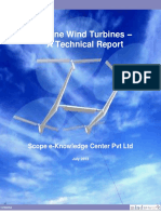 Airborne Wind Turbines