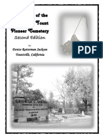 Veterans of the George C. Yount Cemetery - Second Edition