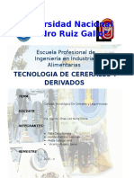 Práctica N°01- Calidad Tecnologica de Cereales y Leguminosas