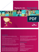 play for life - touch football