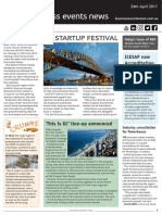 Business Events News for Mon 24 Apr 2017 - NSW secures startup festival, This is Gold Coast line-up announced, ITB China to focus on MICE, and much more