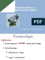 Introducción a La Farmacología Clínica .Pptx
