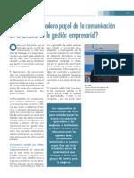 El papel de la comunicación en la gestión empresarial_Pharmamarket_Dic08