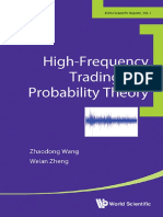 High Frequency Trading and Probability Theory - Zhaodong Wang