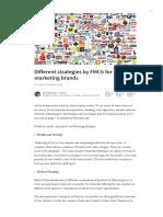 Different Strategies by FMCG for Marketing Brands _ Asim Ali Anwar _ Pulse _ LinkedIn