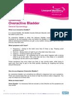 Overactive Bladder