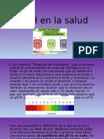 El pH en la salud
