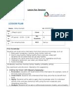 lesson plan 2 - unit 8 lesson 2