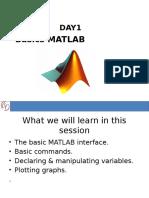 Day1 Matlab Basics