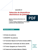 Dispositivos de Potencia