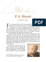 Who Is FA Hayek