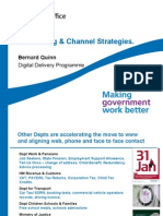 Bernard Quinn Numbering and Channel Strategies